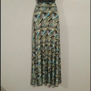 Honey and Lace Maxi Skirt or Dress XS
